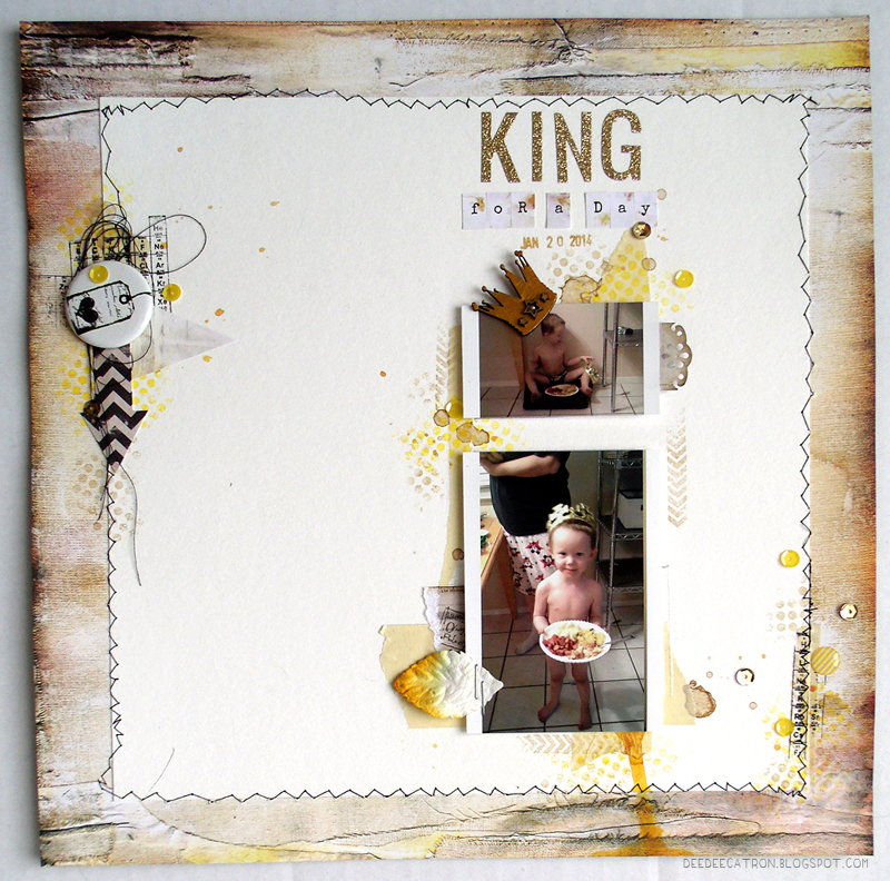 King for a Day Layout