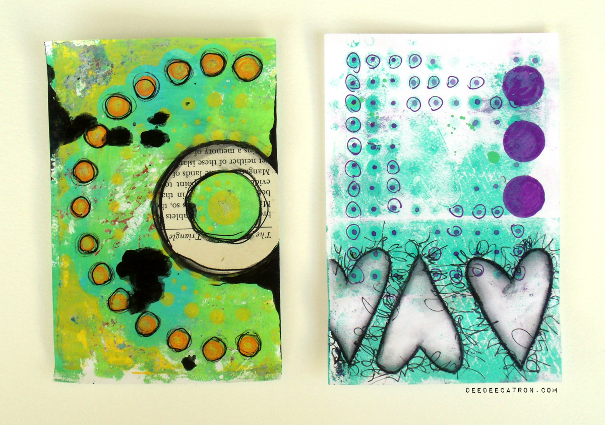 Gelli Printed Pages 2