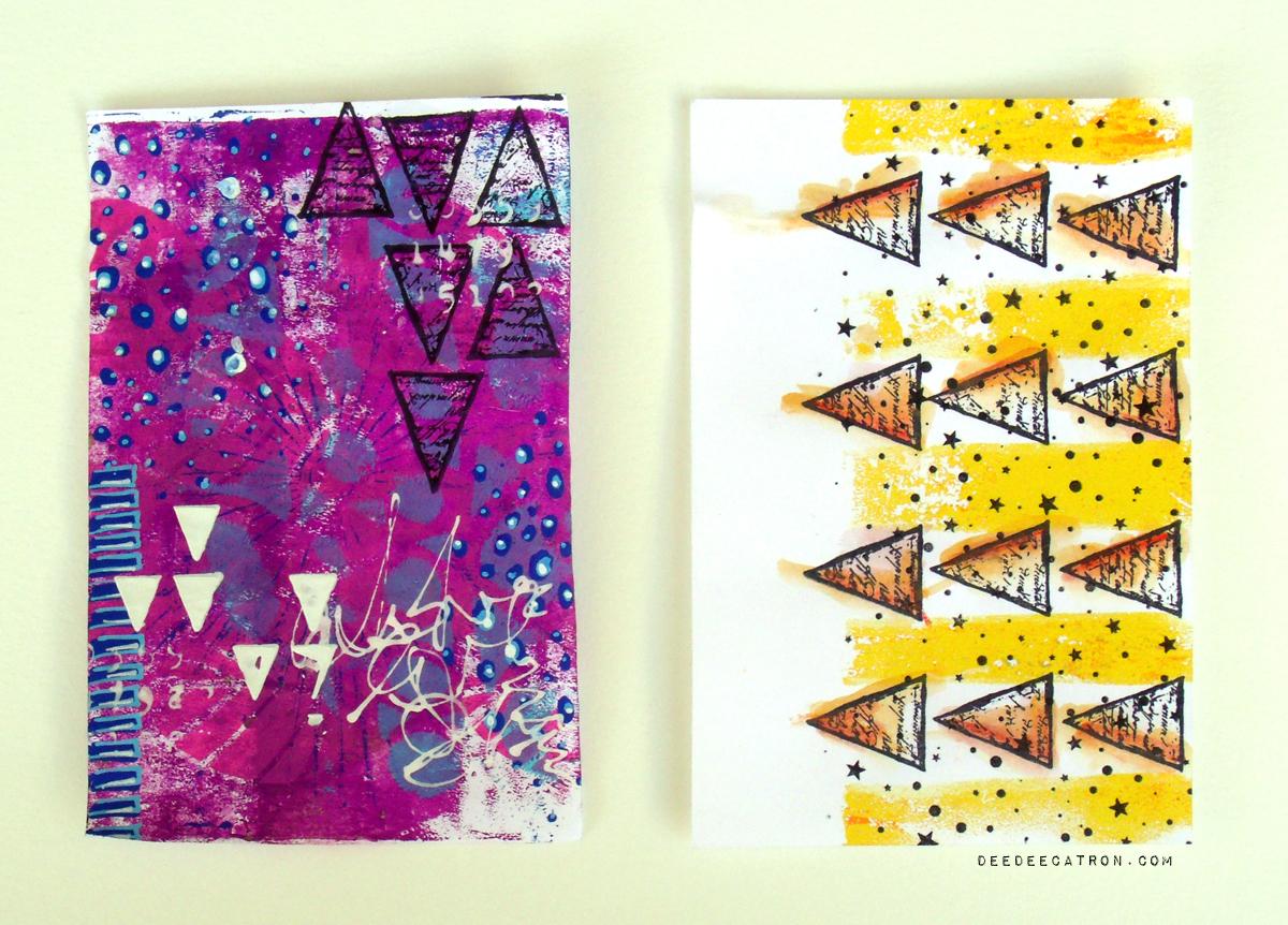 Gelli Printed Pages 3